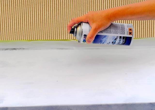покраска подоконника своими руками