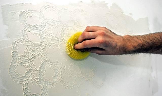 Декоративная штукатурка своими руками