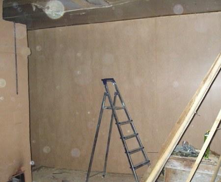 Ремонт стен в деревянном рубленом доме