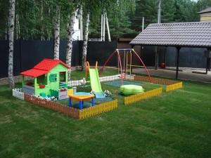 Территория для детской площадки