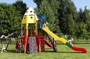 Детская площадка-ракета