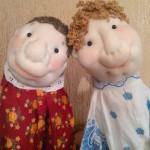 Игрушки для кукольного театра своими руками