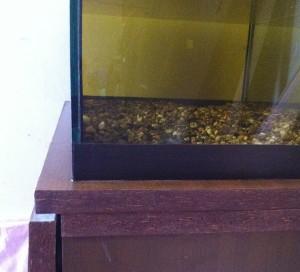 Изготовление тумбы под аквариум - Двойная верхняя крышка