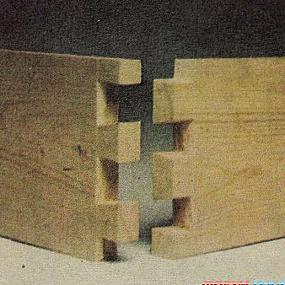 Ремонт мебели своими руками - шиповое соединение