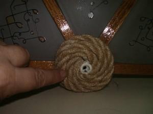 Бра своими руками - Спираль