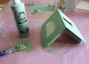 Как сделать домик из бумаги своими руками - Изготавливаем крышу