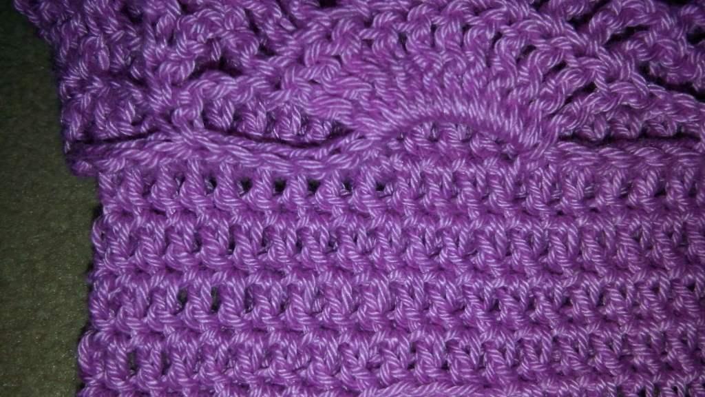 Вязаная юбка крючком - вяжем основу под рюшами