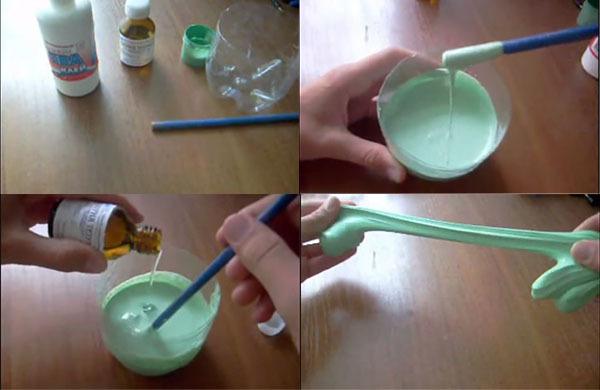 Как сделать умный пластилин своими руками
