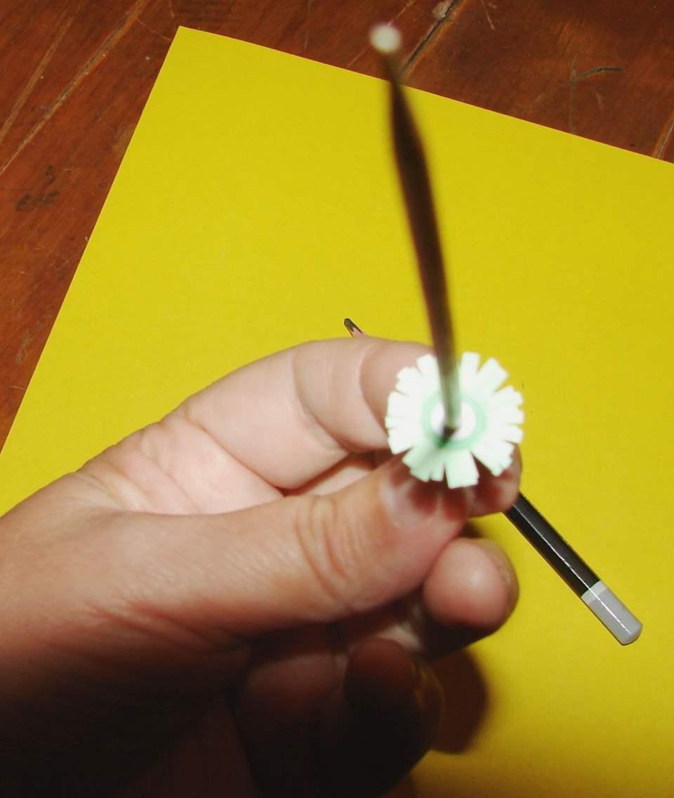 Настенный календарь своими руками - получаем цветочки