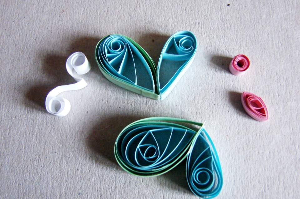 Настенный календарь своими руками - процесс изготовления бабочки