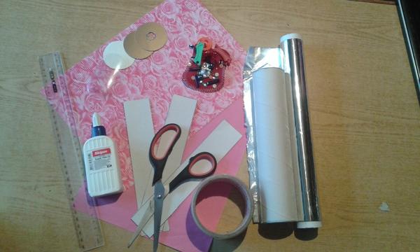 Как сделать калейдоскоп своими руками - необходимые материалы