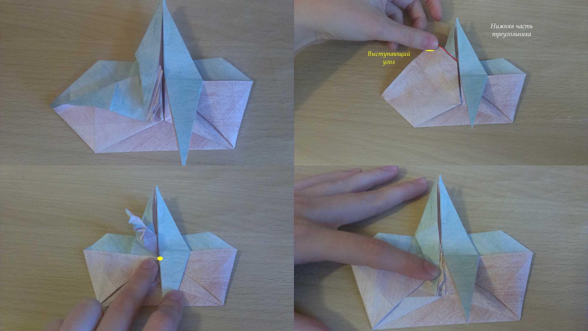 Оригами Мастер Йода своими руками 21