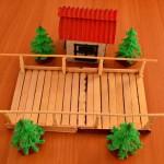 Как сделать игрушечный деревянный мостик