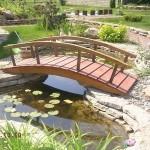 Сделай сам: декоративный мостик для садового участка