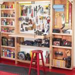 Монтаж вместительного шкафа для инструментов своими руками